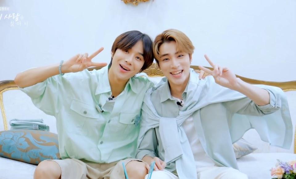 jungwoo and xiaojun