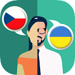 Czech-Ukrainian Translator Icon