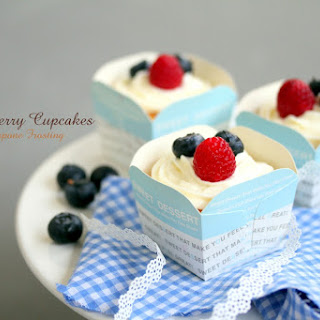 Lemon Berry with Mascarpone Frosting.