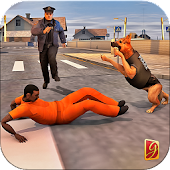 Police Dog Chase Mission Game
