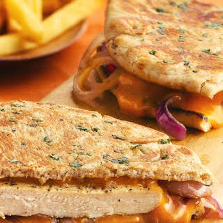 Herbed Chicken and Cheese Panini.