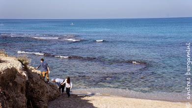 Photo: scalata della roccia sul mare