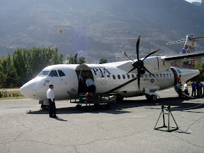 Photo: Landed on Gilgit Airport