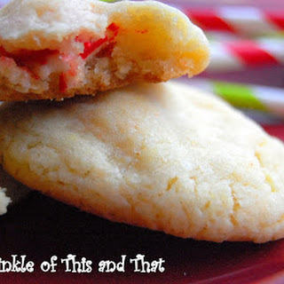 Candy Cane Cookie With Cake Mix Recipes