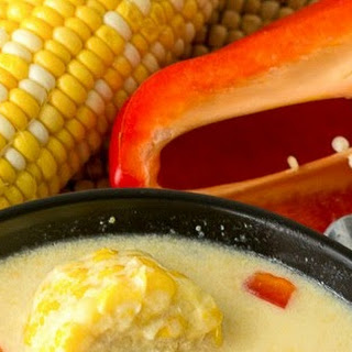 Quick Trinidad Corn Soup