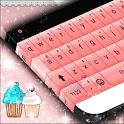 Cupcakes Pink Keyboard Theme icon