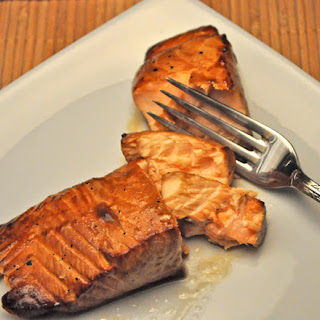 Honey, Soy Glazed Grilled Salmon