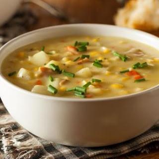 Chicken Sweet Corn Soup.