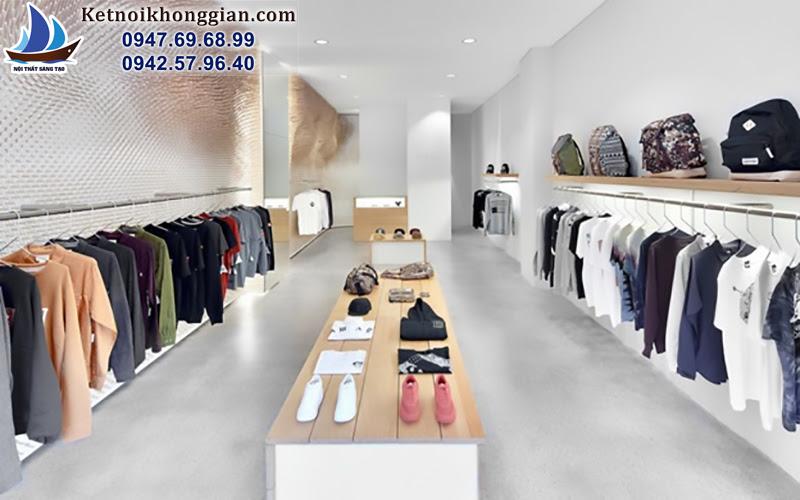 thiết kế shop phong cách lạ