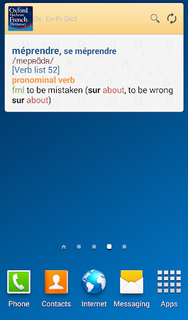 Oxford French Dictionary TR 4.3.136 screenshot 75256