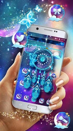 Download Purple Dreamcatcher theme APK latest version app by Cheetah