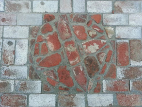 Photo: Added a Compass Rose to some brickwork in front of my house