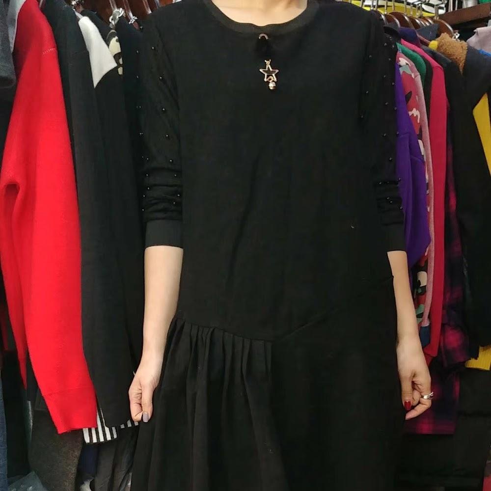 Lace 珠袖連身裙