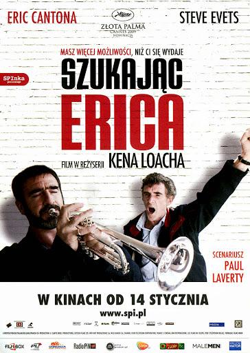 Przód ulotki filmu 'Szukając Erica'