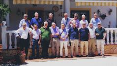 Reencuentro de los integrantes del grupo 'Albox 63' que este año ha tenido lugar en Lubrín.