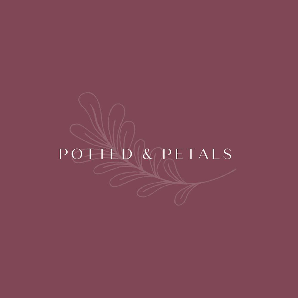 Potted & Petals - Logo Template