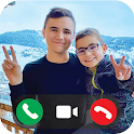 Swan And Neo Fake Call icon