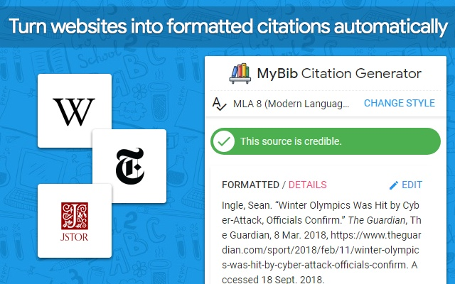 Mybib Free Citation Generator