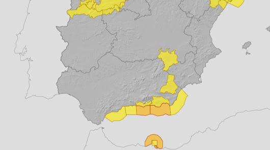 La provincia vuelve a estar en aviso naranja por el mal tiempo