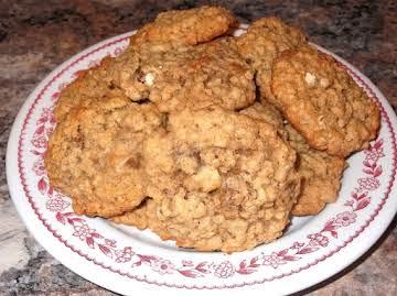 Black Walnut Oatmeal Cookies