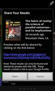 Google Goggles- screenshot thumbnail