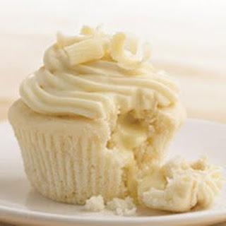 Heavenly White Chocolate Cupcakes.