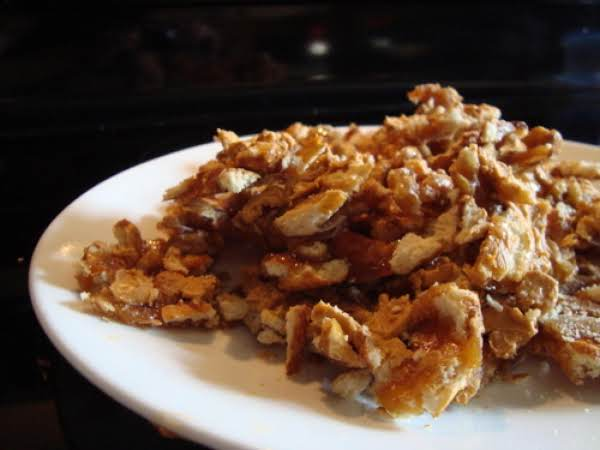 Butterscotch Pretzel Brittle Recipe