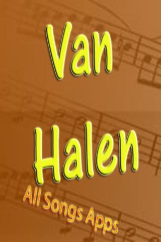 All Songs of Van Halen