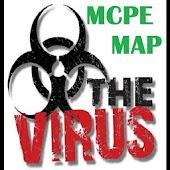 Virus map for minecraft horror APK for Bluestacks