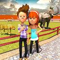 Wild Animal Virtual Zoo Park icon