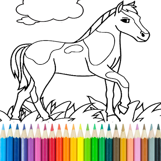 Horse Coloring Book Apps On Google Play