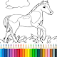 Horse Coloring Book Apk