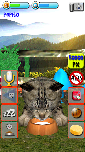 Talking Kittens virtual cat that speaks, take care apkmr screenshots 14