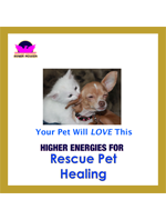 Comfort your pet 24/7 for life with this amazing Rescue Pet Healing programmed CD