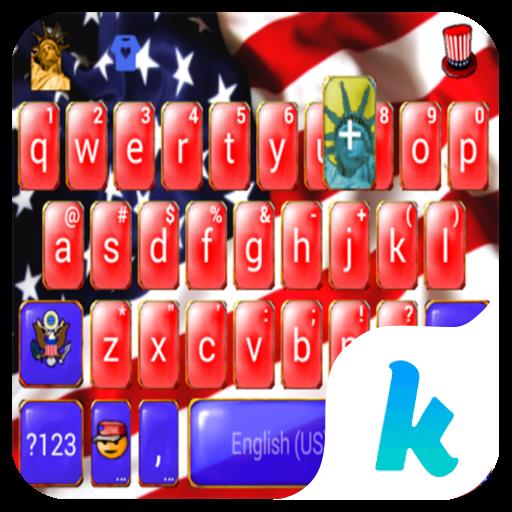 American Flag Kika Keyboard
