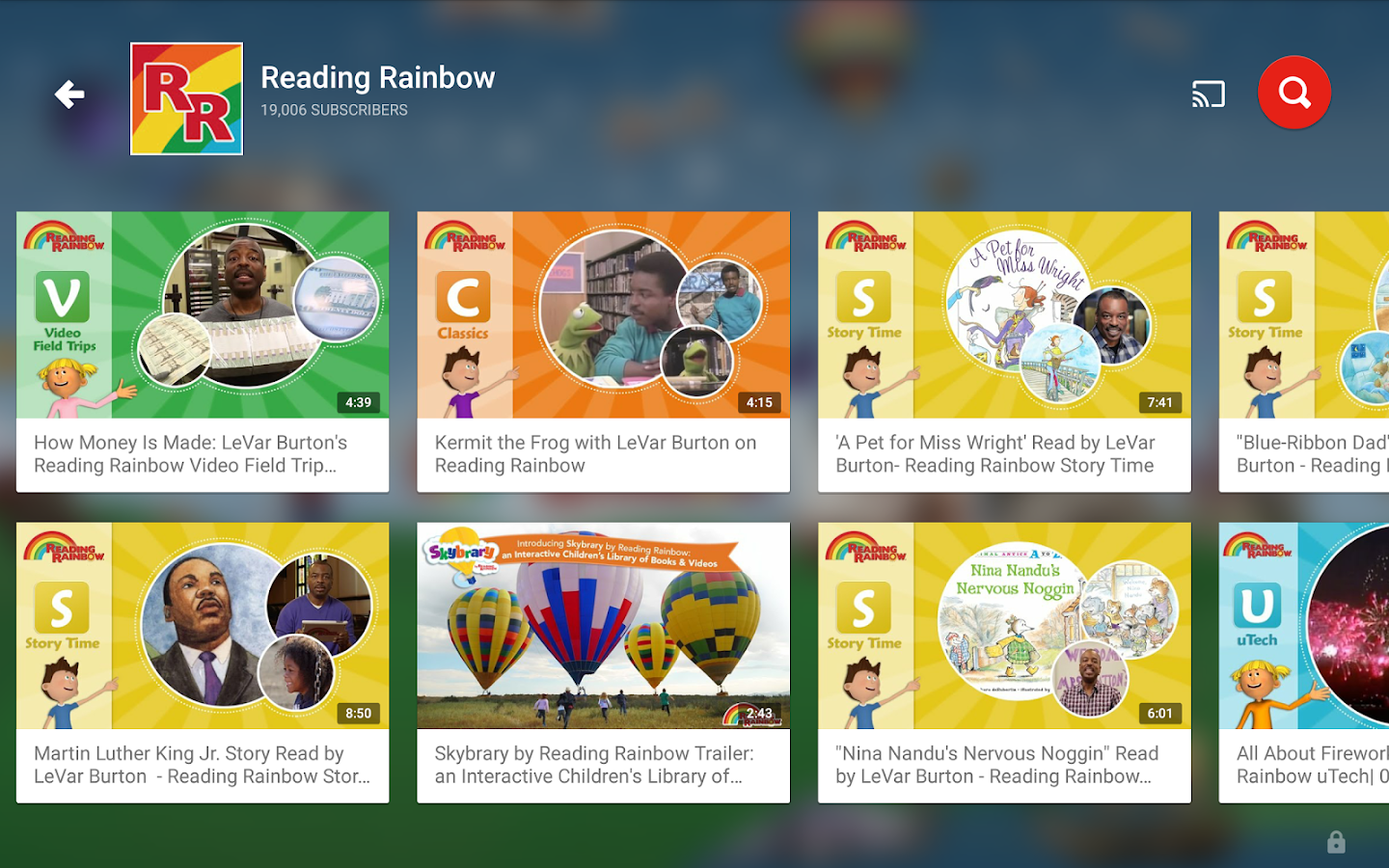 YouTube Kids Apl Android Di Google Play