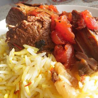 Persian Saffron Lamb, Slowcooker Style