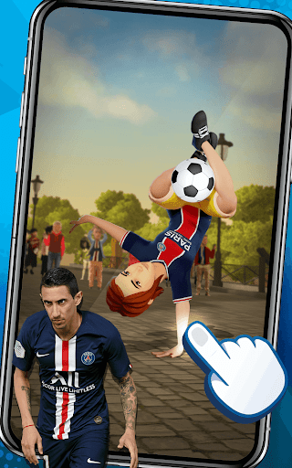 PSG Soccer Freestyle screenshot 4