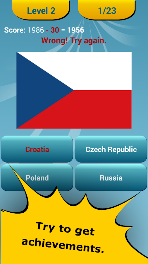 World Flags Quiz- screenshot