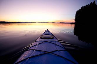 Photo: Kayaking Jackson Lake in Grand Teton National Park, WY.