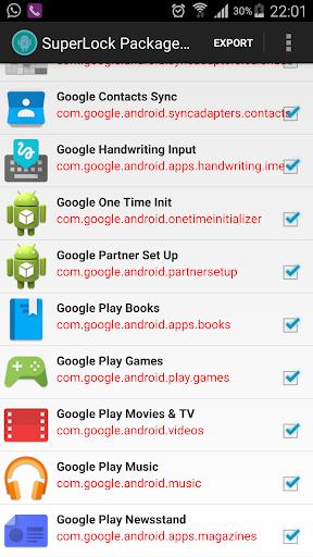 Package Disabler [Samsung]  screenshots 6