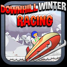 Downhill Winter Racing