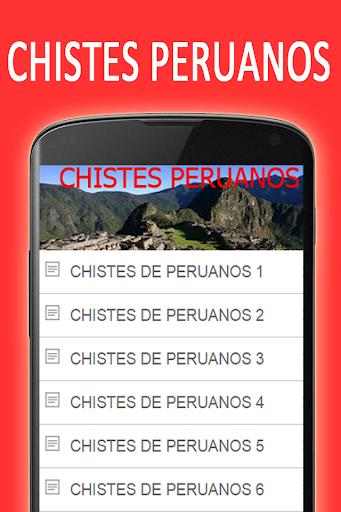 Chistes graciosos de Peruanos