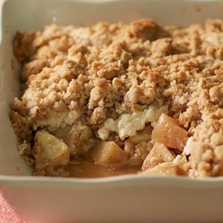 Salted Caramel Apple Cheesecake Crisp Recipe
