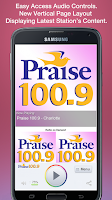 Screenshot of Praise 100.9 - Charlotte