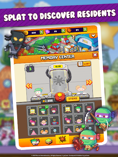 Nickelodeon Pixel Town 1.3.6 screenshots 6