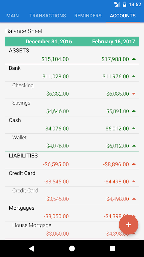 Bluecoins- Finance And Budget- screenshot