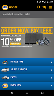 NAPA AUTO PARTS - screenshot thumbnail