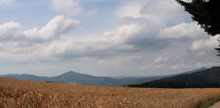Photo: J17 : Vue sur le Mt Tourvéon, avant le Col de Crie