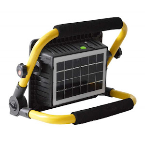 Proiector cu panou solar 50W, IP67, W743